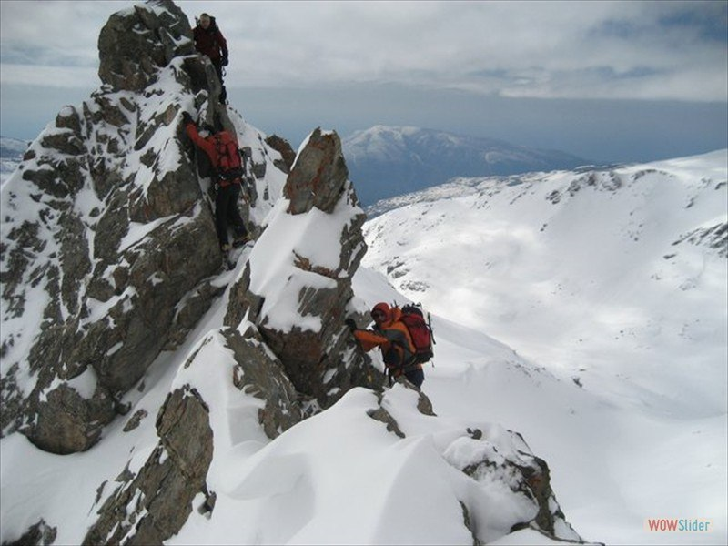 Winter Mountaineering, Sierra Nevada Slide 7