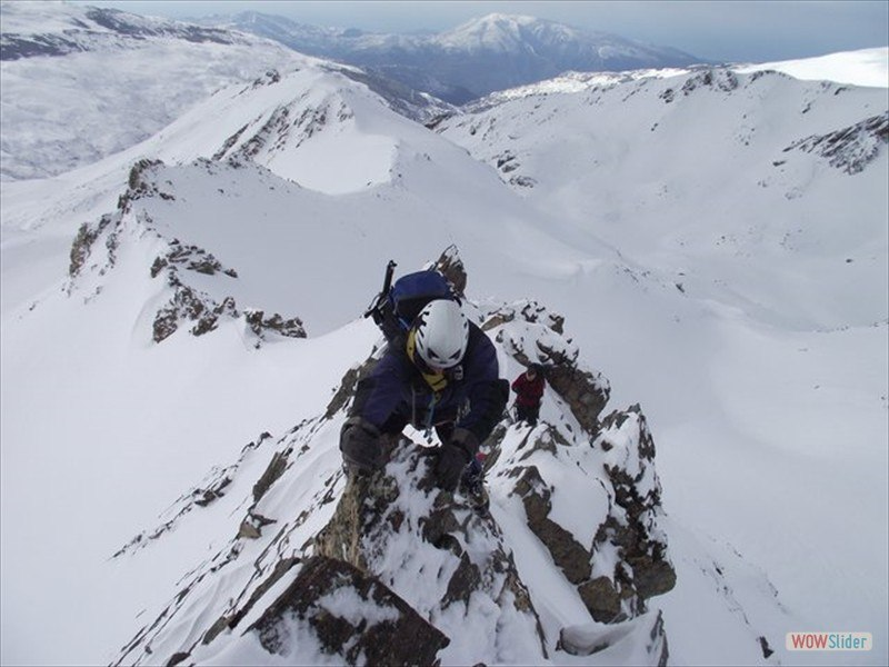 Winter Mountaineering, Sierra Nevada Slide 8