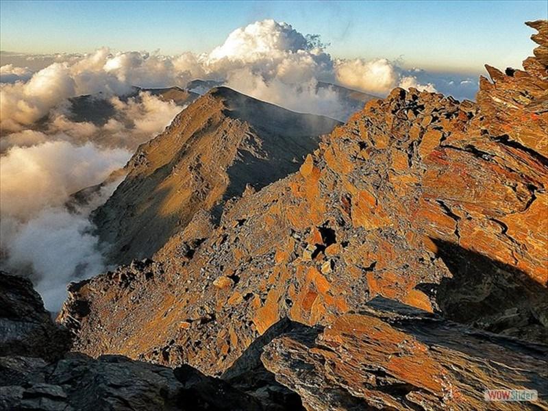 Alpine Ridges Sierra Nevada, Spain Slide 5