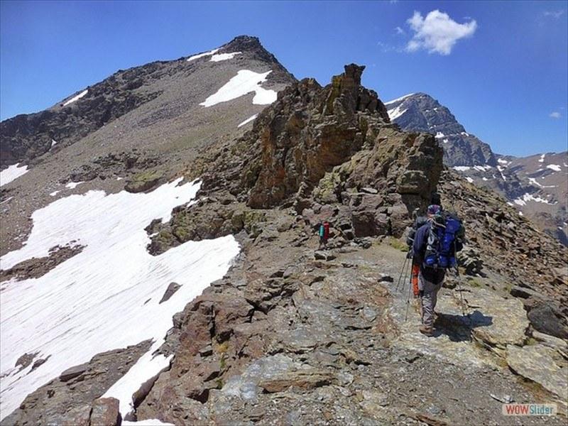 Alpine Ridges Sierra Nevada, Spain Slide 6