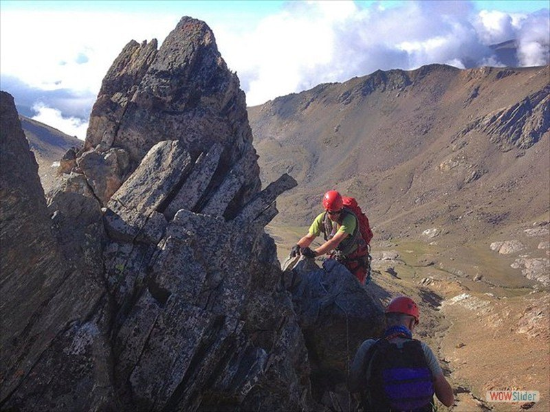 Alpine Ridges Sierra Nevada, Spain Slide 7