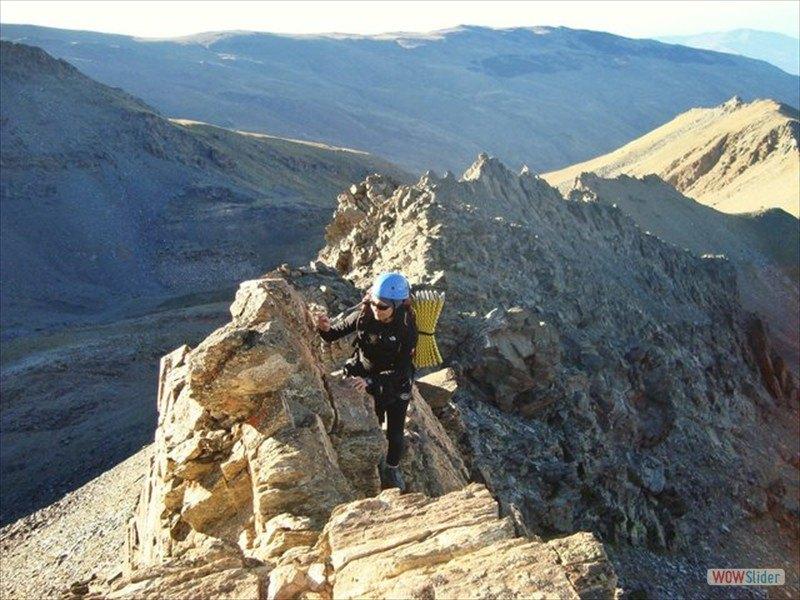 Alpine Ridges Sierra Nevada, Spain Slide 8