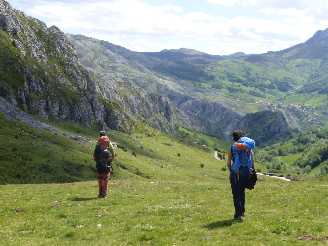 Guided trek in the Picos de Europa