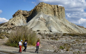 Tabernas desert walking tour