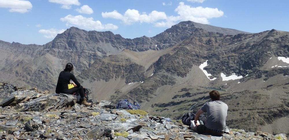 Multi Day Walks and Treks wild camping in the Sierra Nevada, Spain