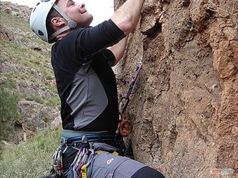 Ropework courses Sierra Nevada Slide 2
