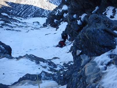 Mountaineering route 8