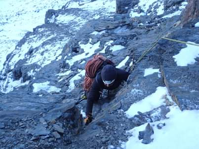 Mountaineering route 4