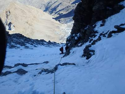 Mountaineering route 5