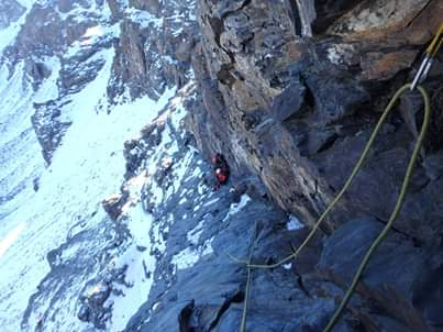 Mountaineering route 3