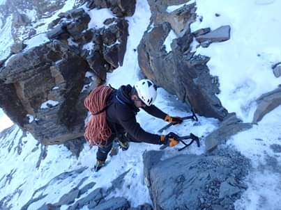 Mountaineering route 2