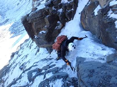 Mountaineering route 1