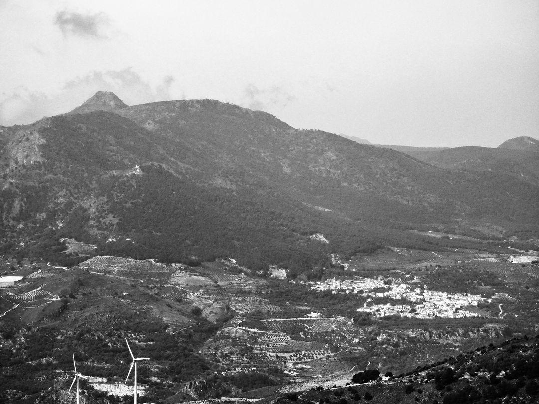 Peak of Giralda, Lecrin Valley