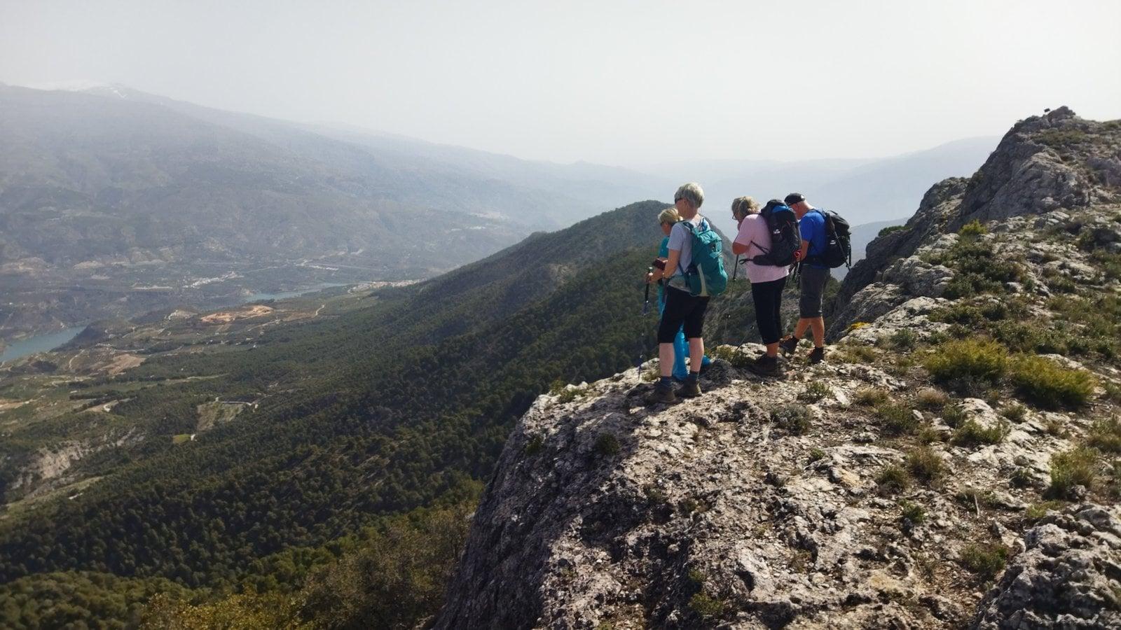 Ascent of Giralda, Lecrin Valley