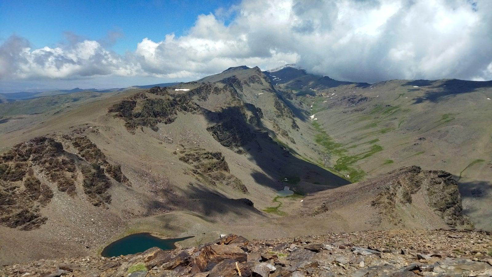 North from summit of Cerro de Caballo