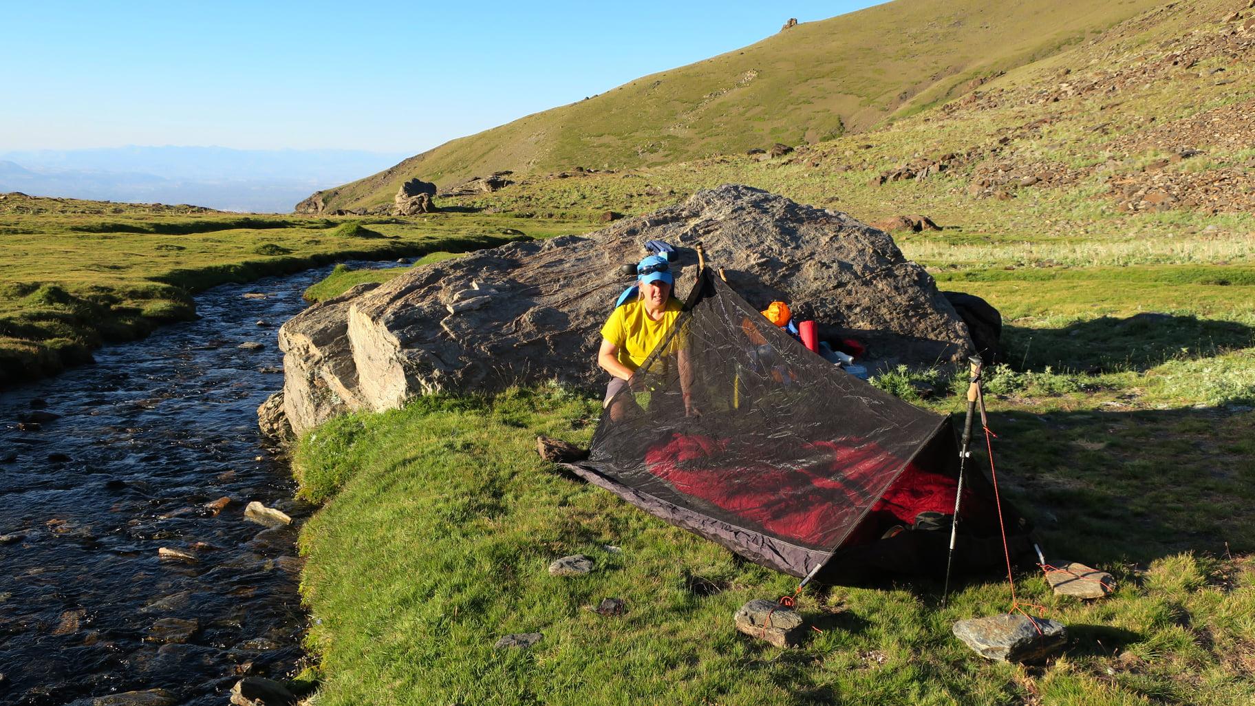 The campsite in Lavaderos de la Reina