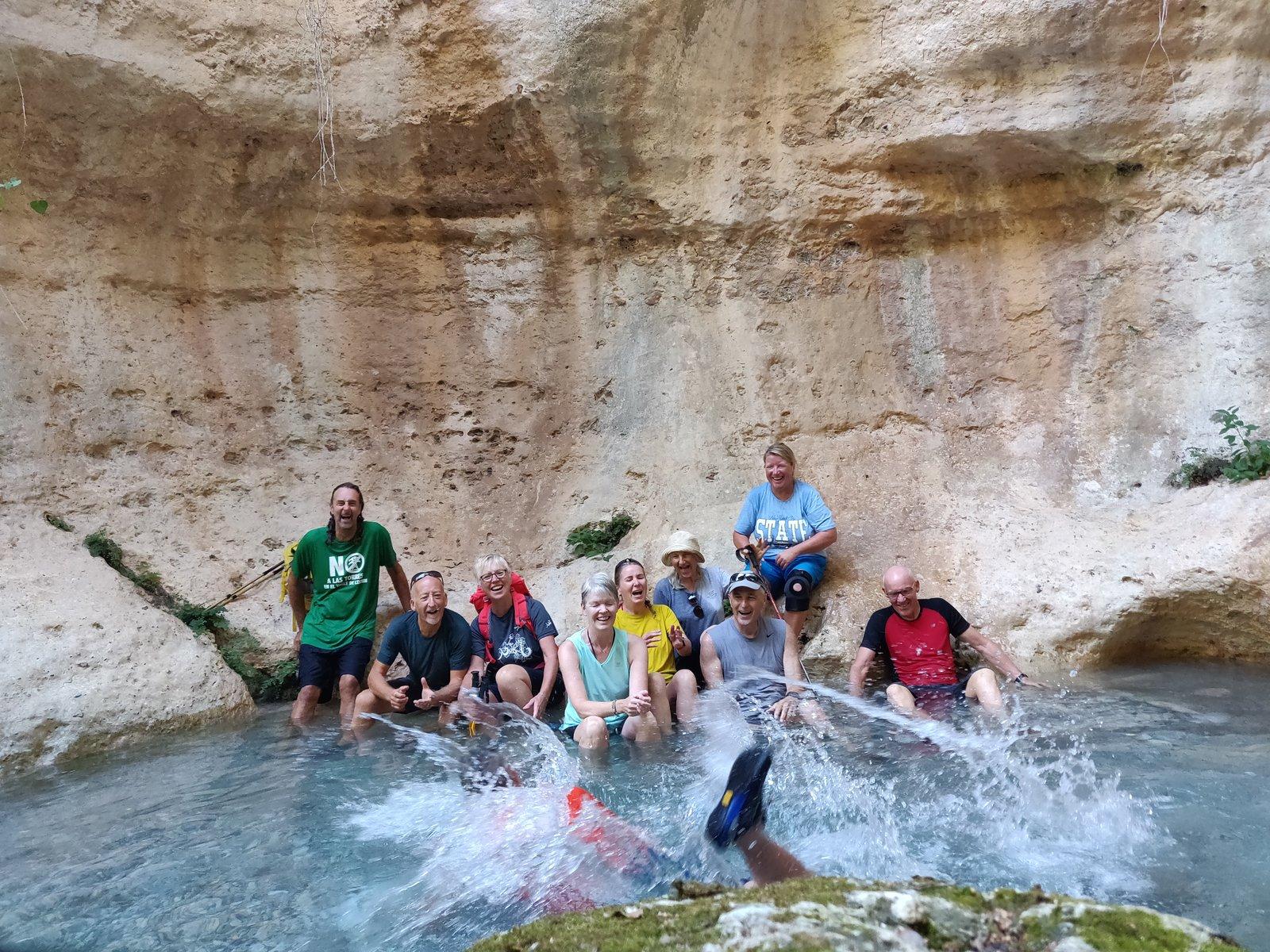 River Walking at Albunuelas