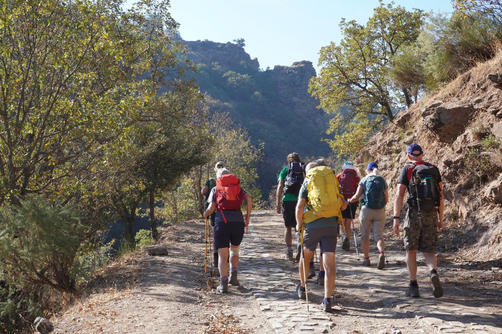 Alpujarra Nomads walking group
