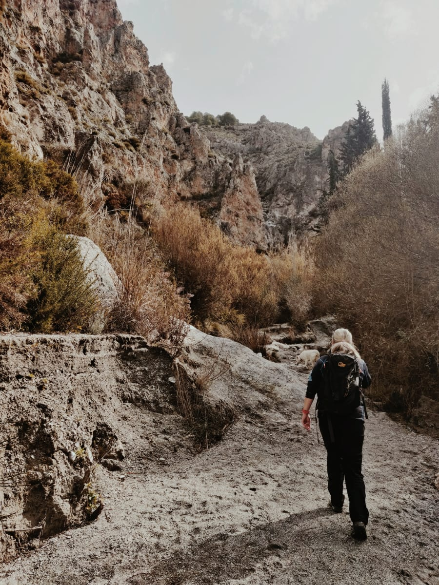 gorge scenery