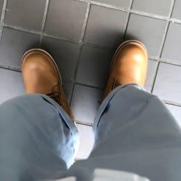 靴の修理出した