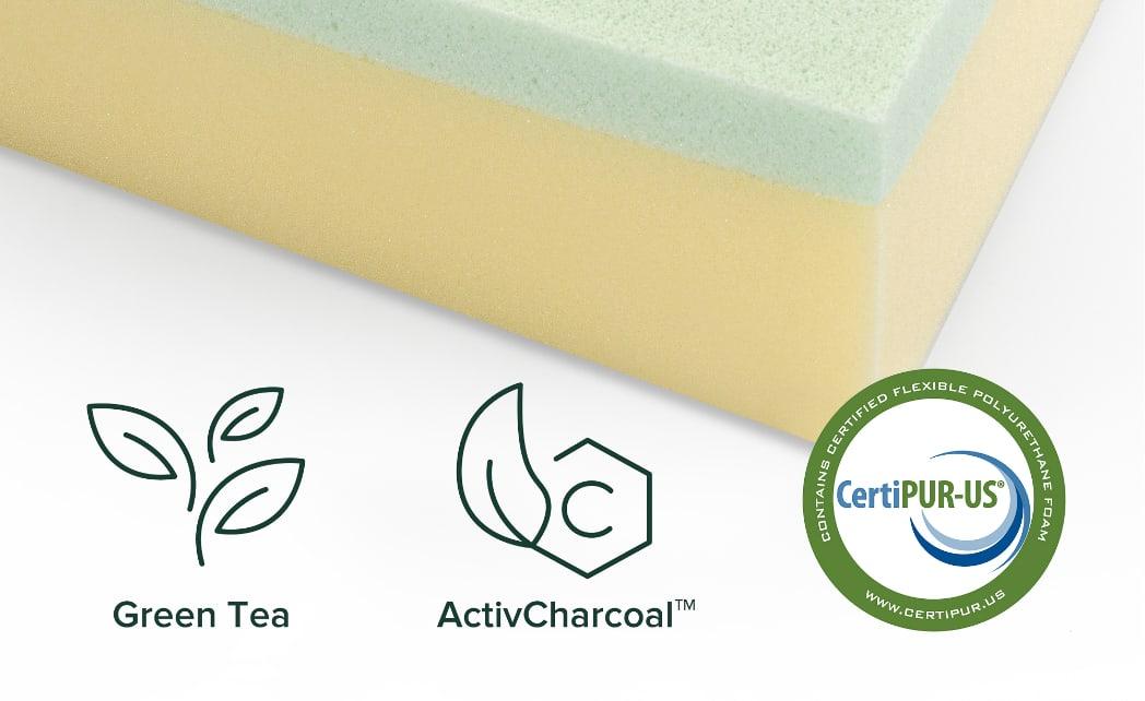 Zinus Green Tea Memory Foam