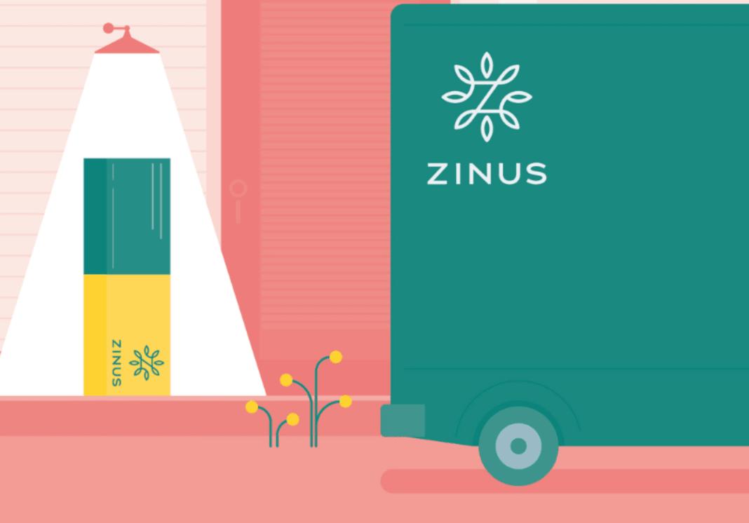 Zinus box delivered