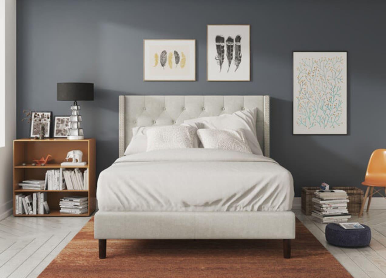 annette platform bed frame