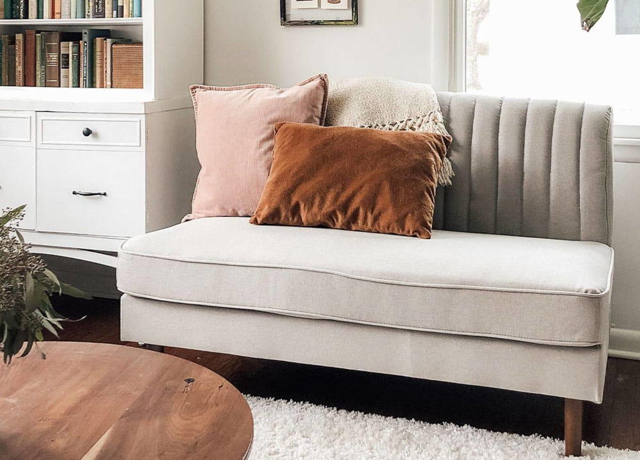 modern farmhouse sofa