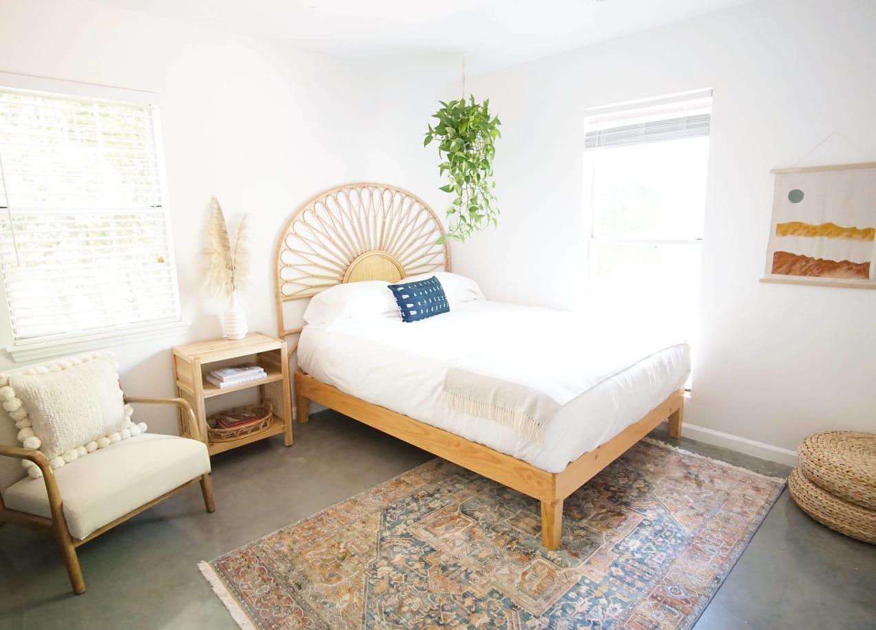 moiz platform bed