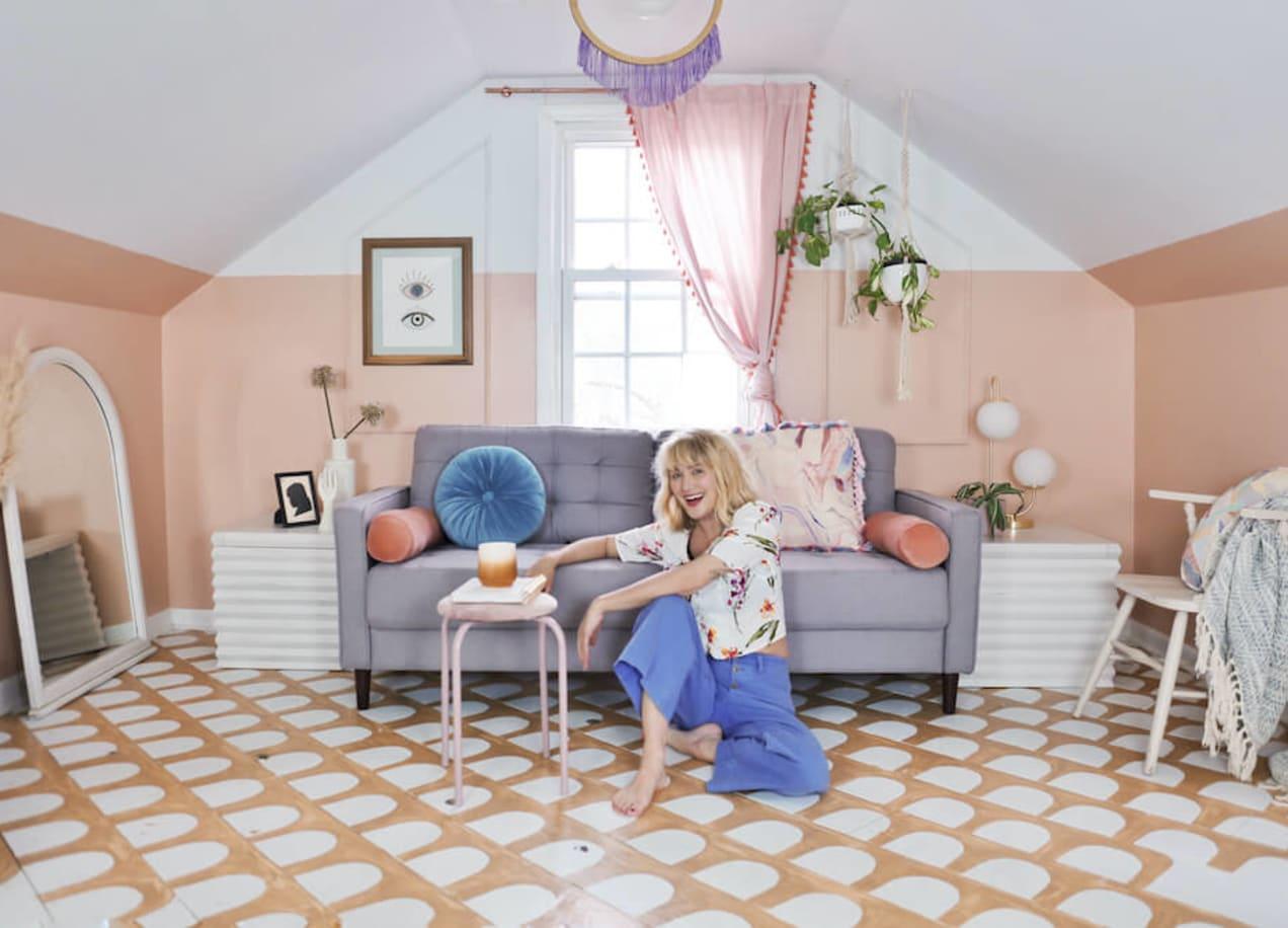 home designer jodi with the benton sofa