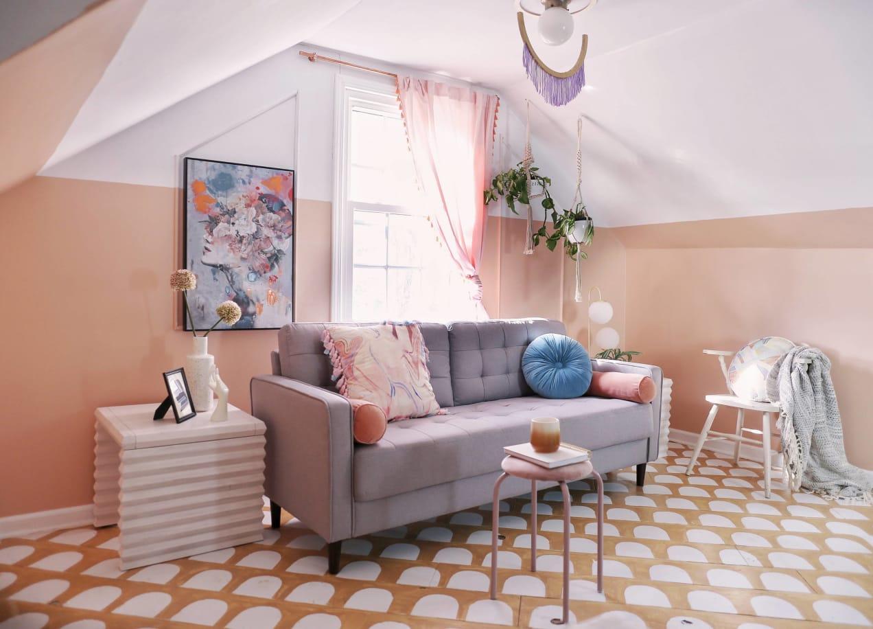 benton sofa side view