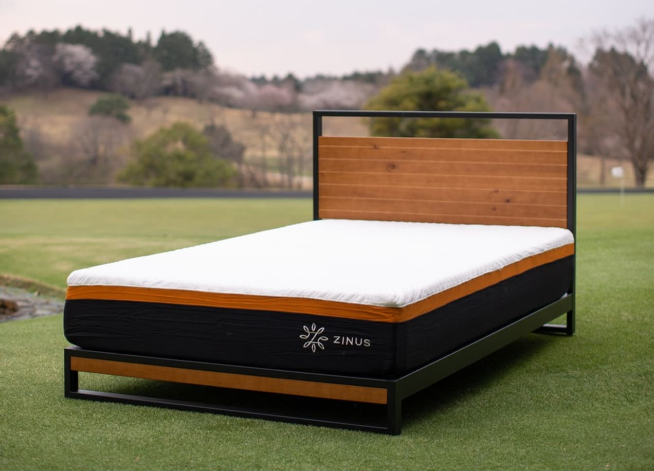 mattress on golf range