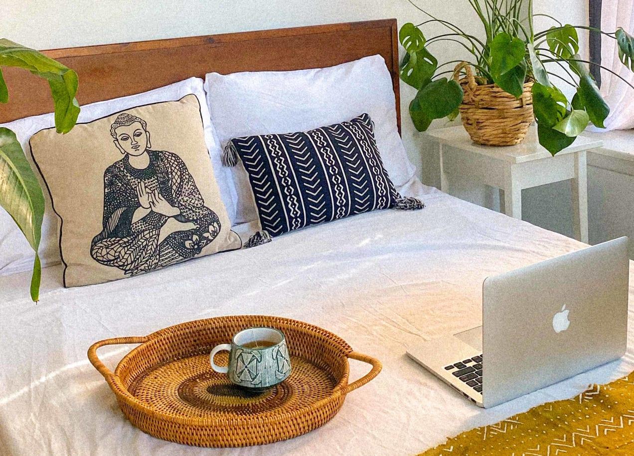 guest bedroom internet
