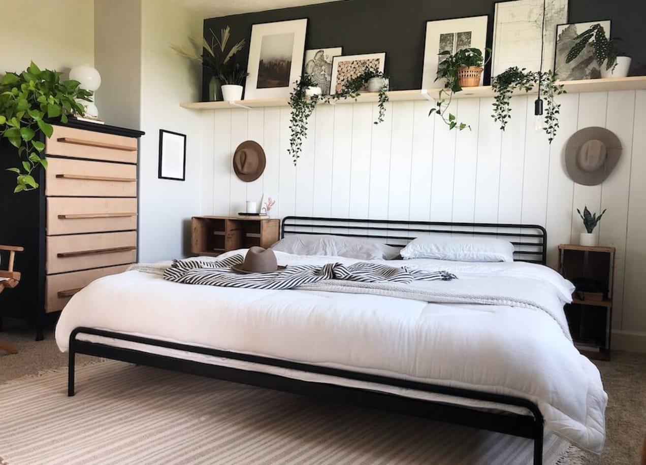 tom metal platform bed