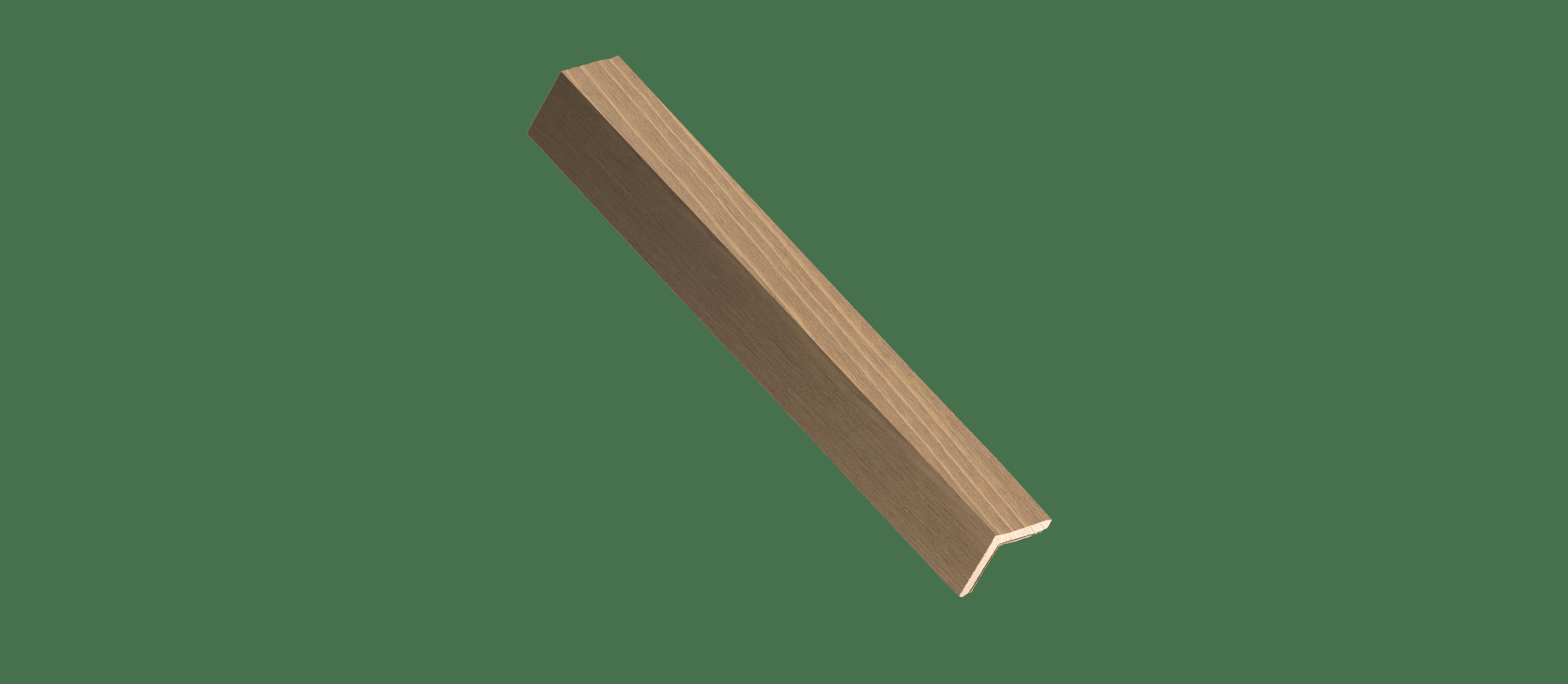 Sand Stone Wood Corner Trim Sample