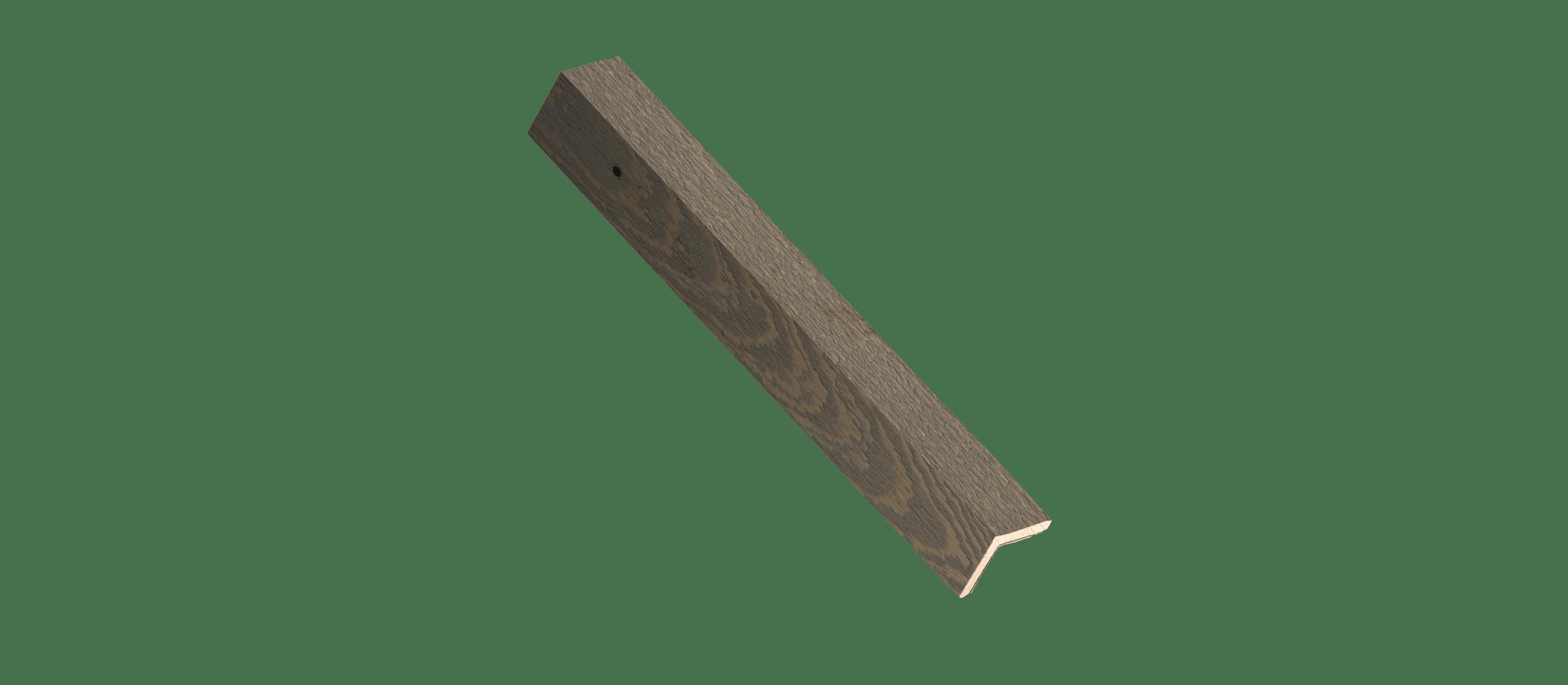 Cobblestone Wood Corner Trim Sample