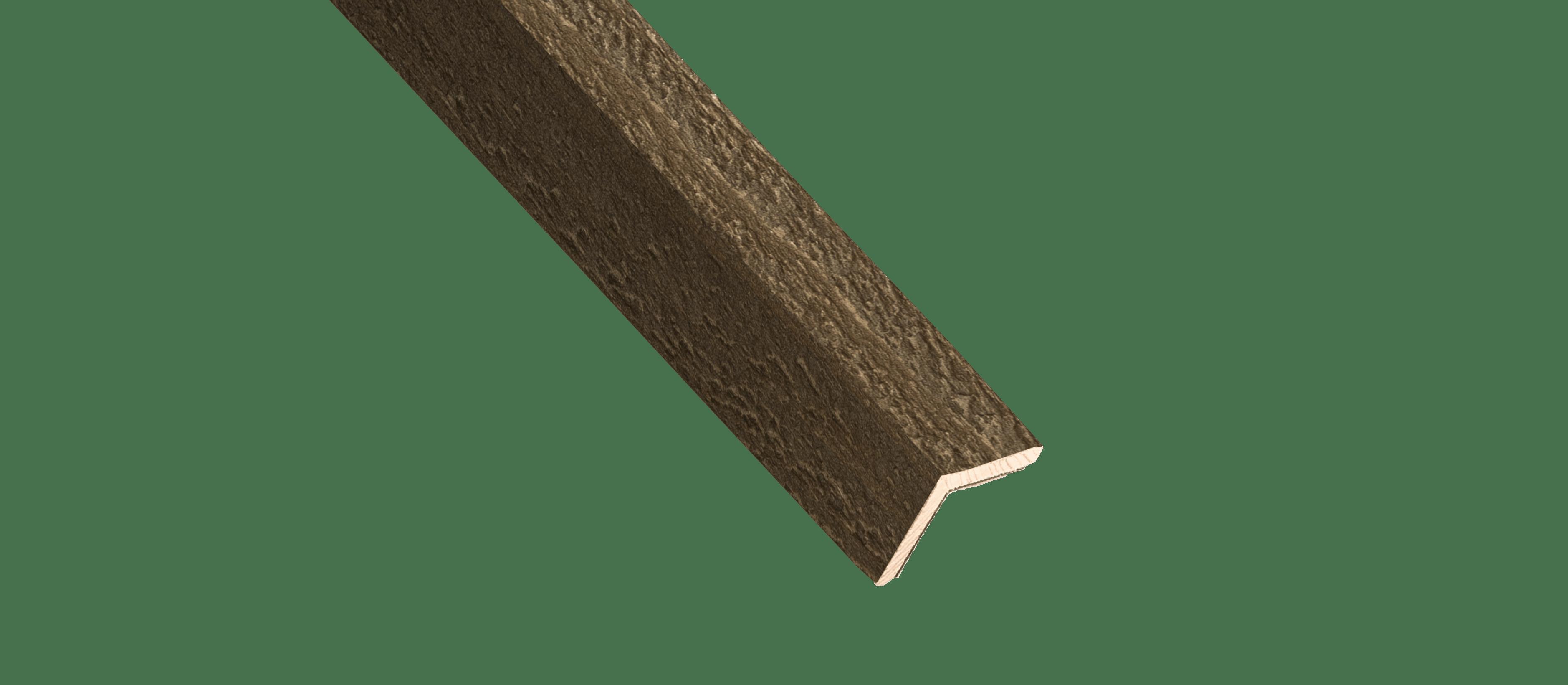 Hazelnut Wood Corner Trim Sample