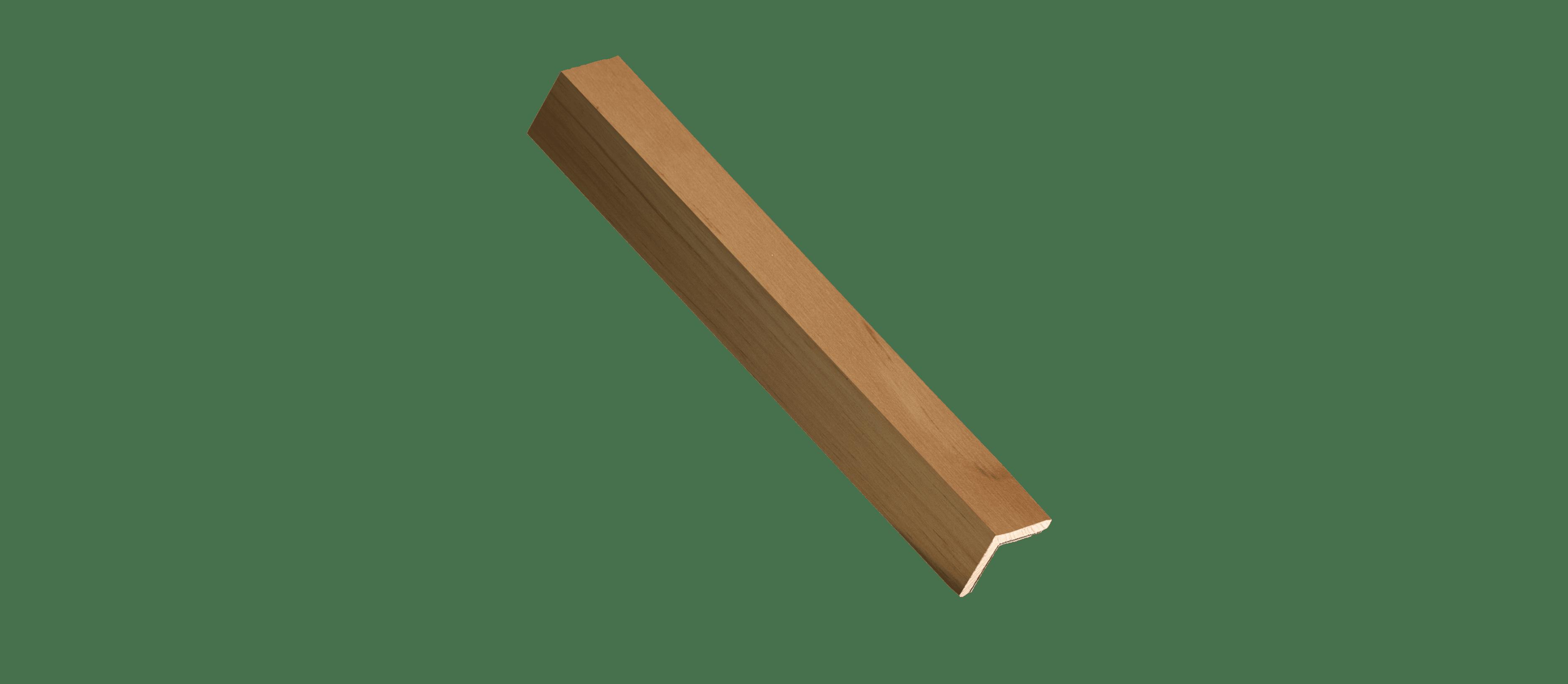 Reclaimed Natural Wood Corner Trim Sample