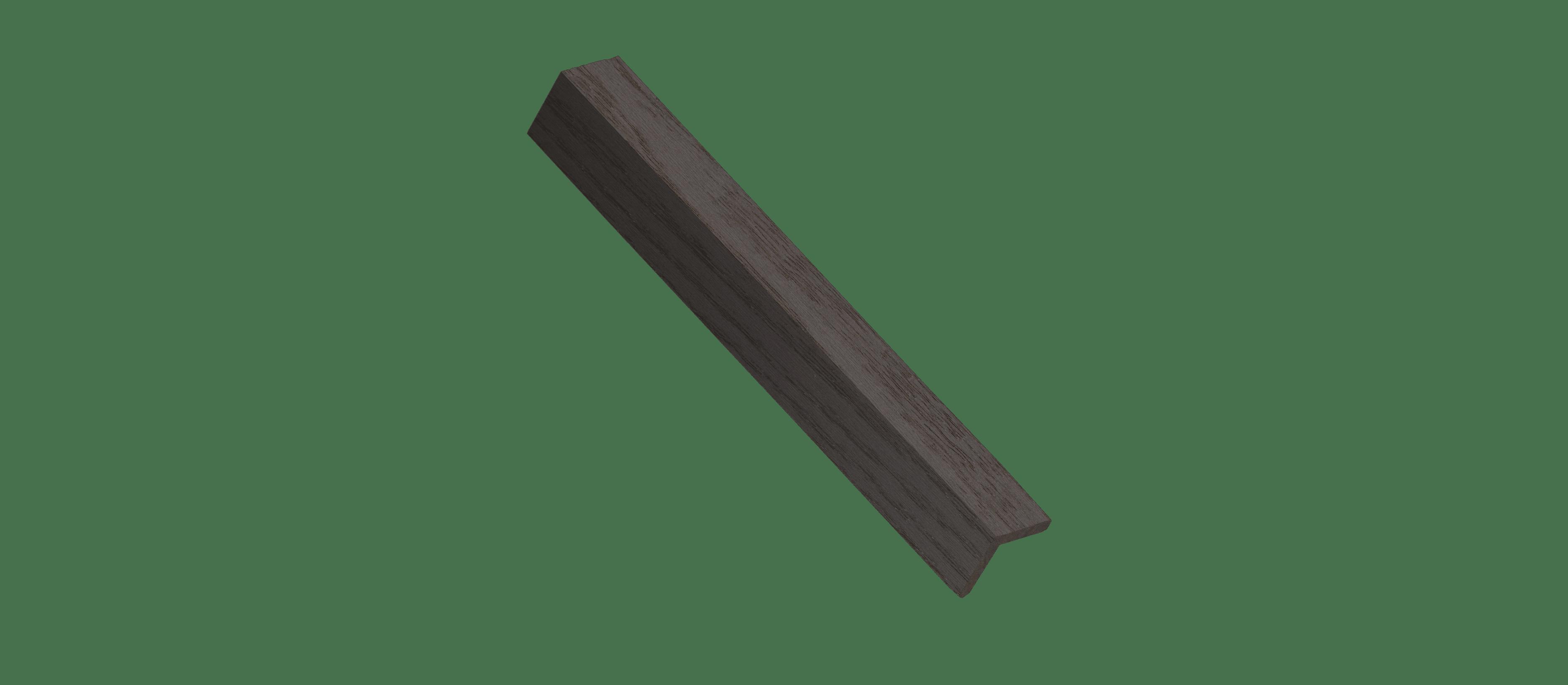 Plum Wood Corner Trim Sample