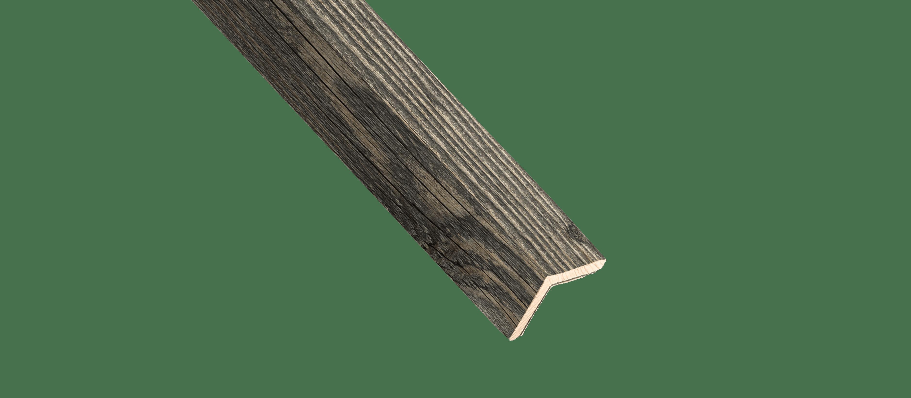 Reclaimed Weathered Wood Corner Trim Sample