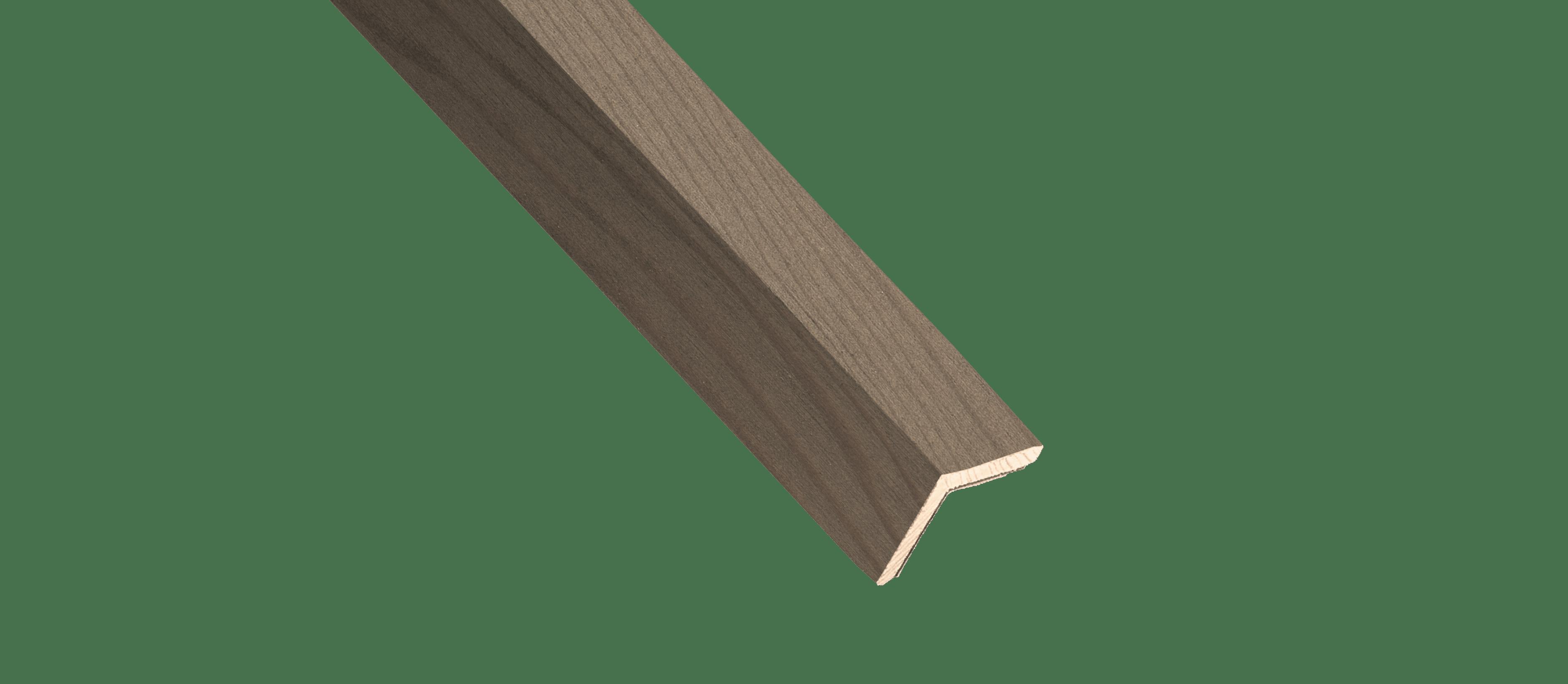 Reclaimed Rustic Slate Wood Corner Trim Sample