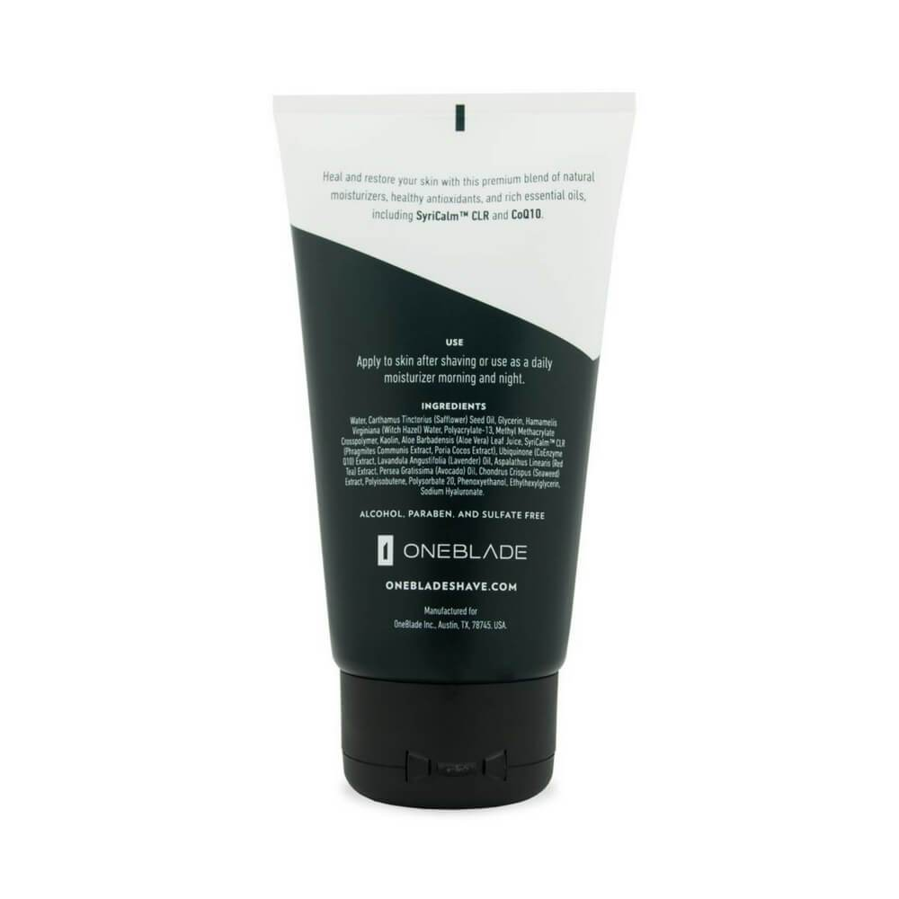 OneBlade after shave balm (back)