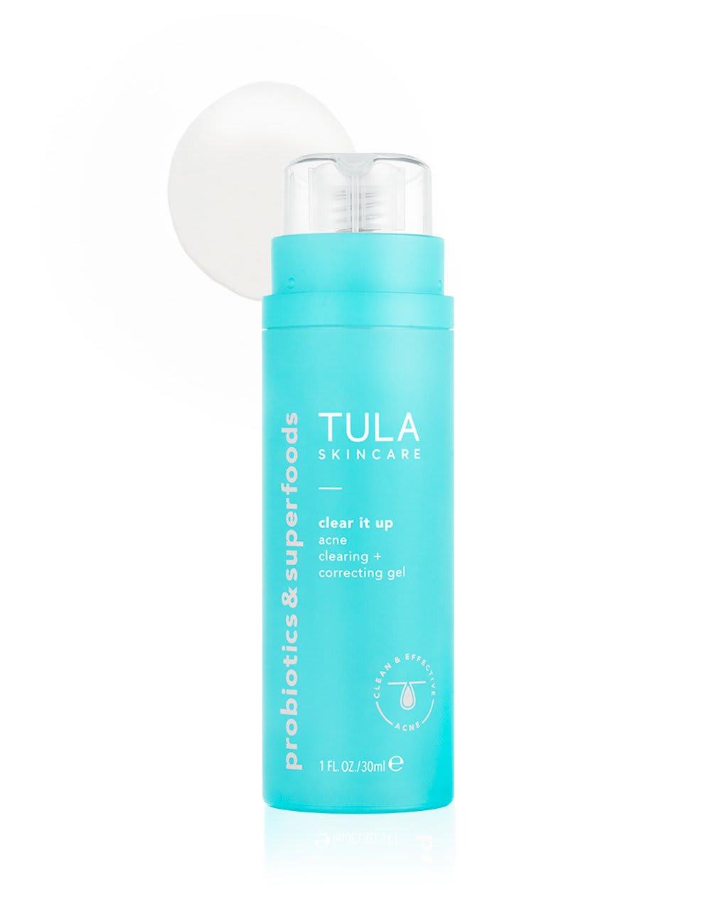 acne clearing + tone correcting gel | Tula Skincare