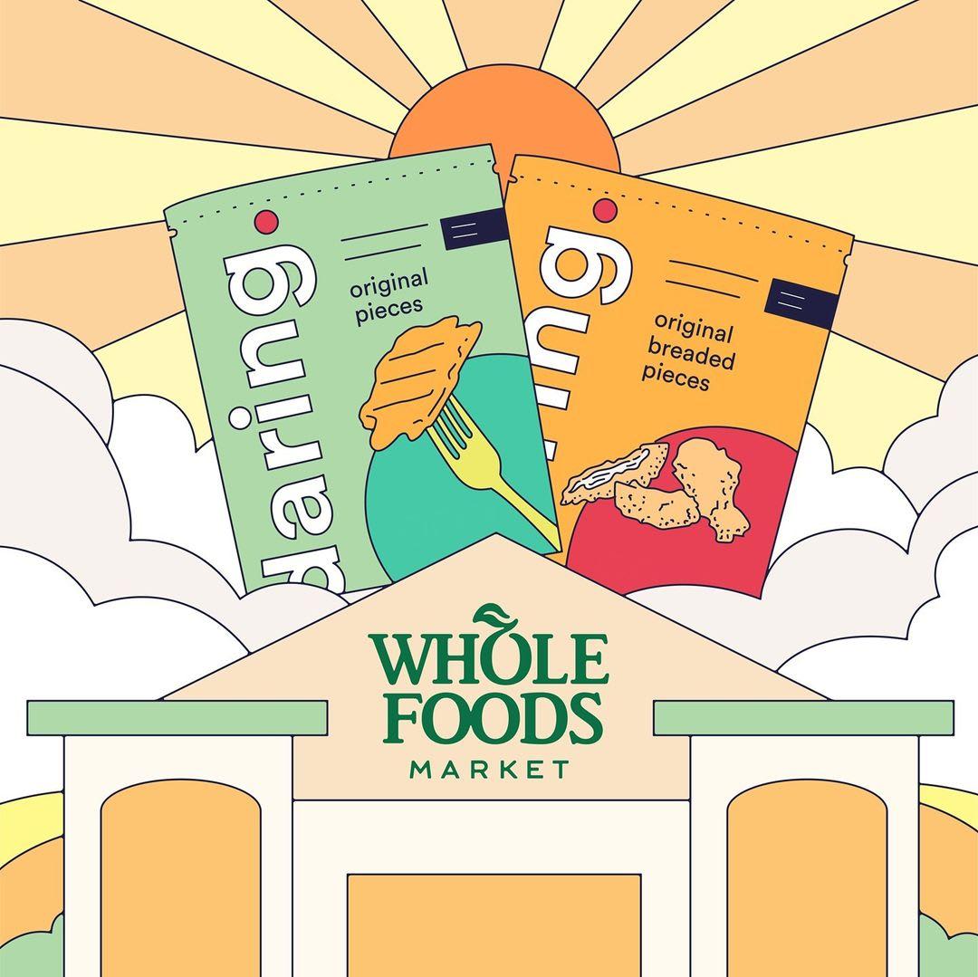 Daring Foods and Whole Foods Market partnership image