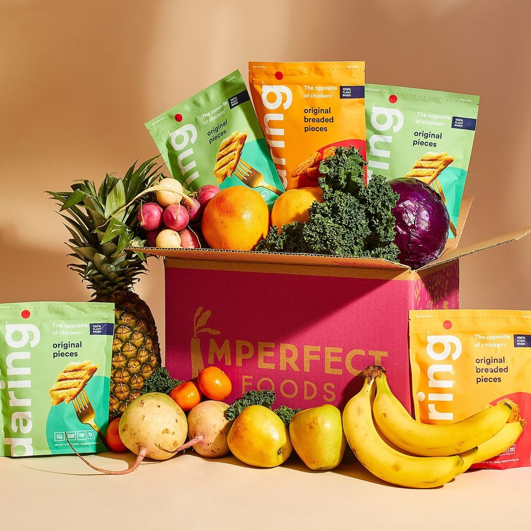 Daring Foods and Imperfect Foods partnership image