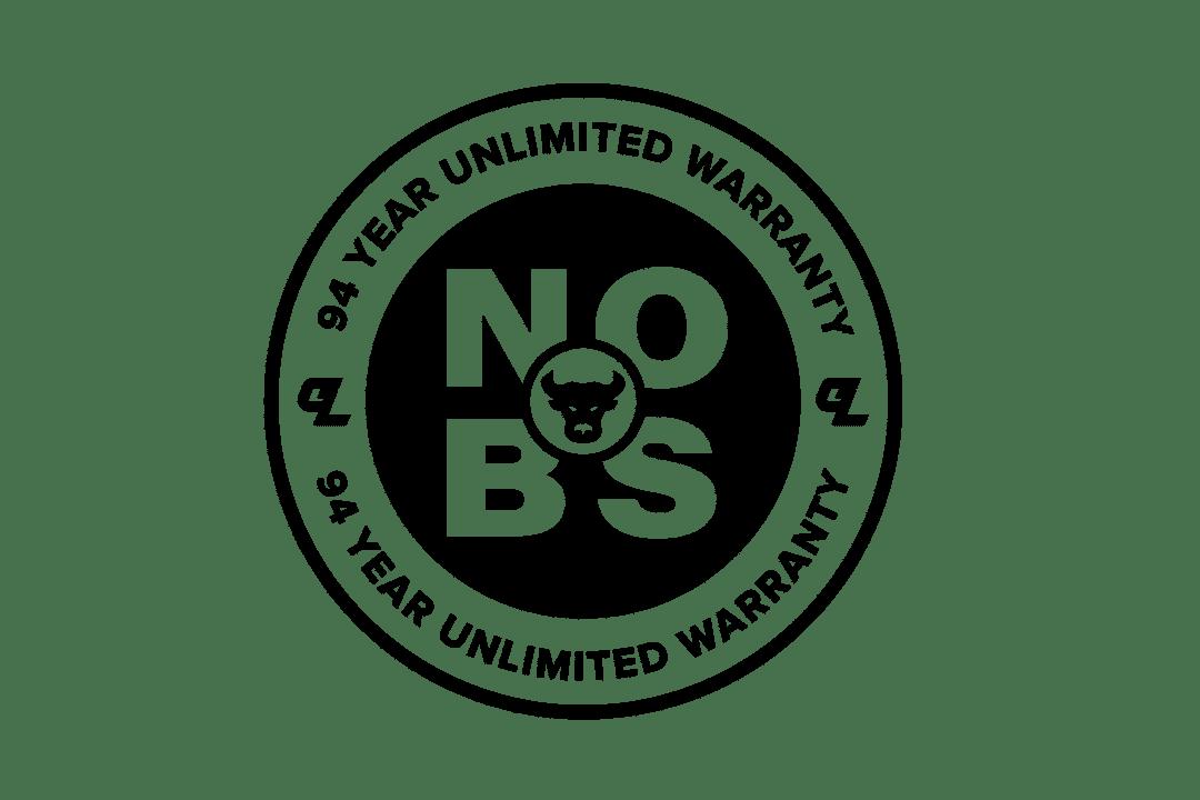 No BS 94 Year Unlimited Warranty