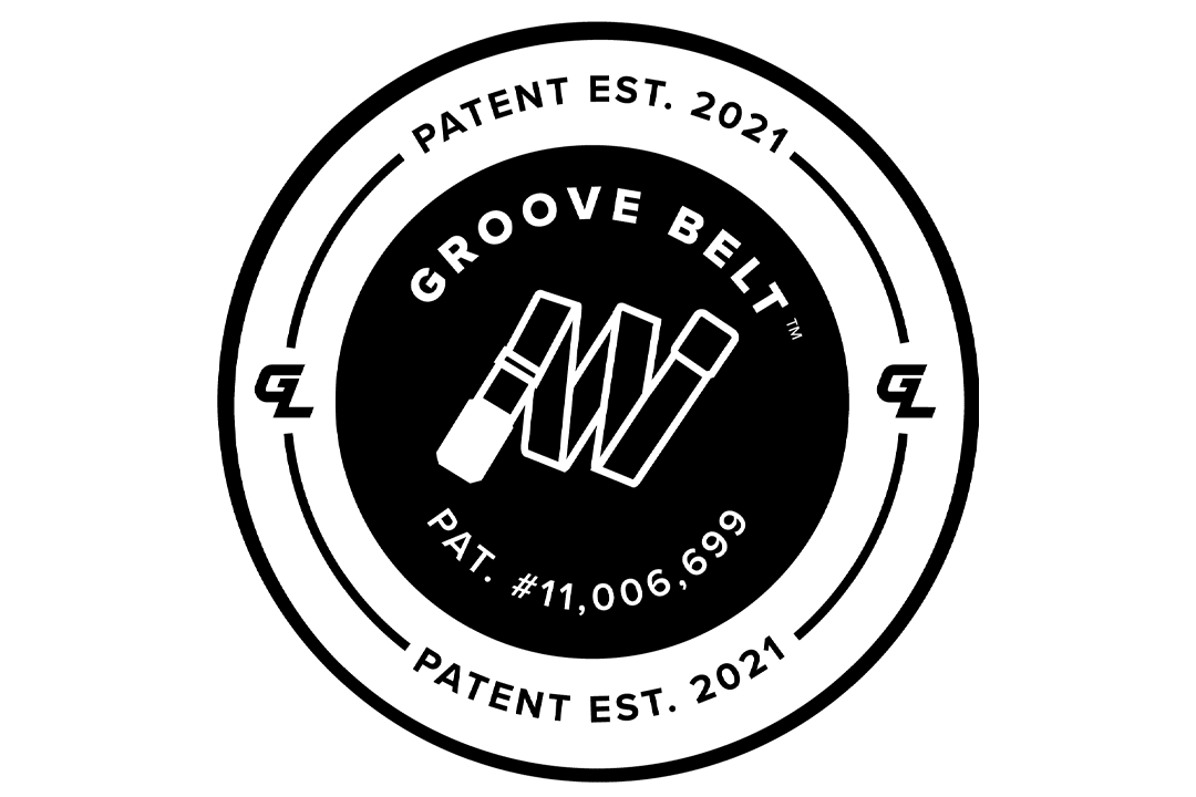 Groove Belt, Patented in 2021; Patent #11,006,699