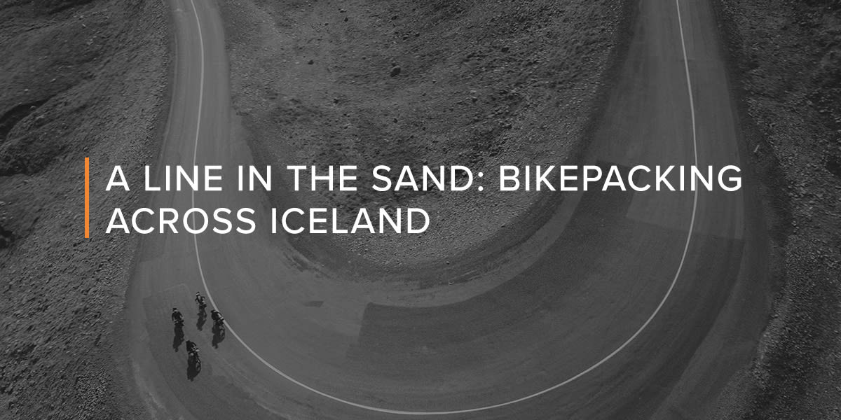 A Line in the Sand: biking Iceland with Groove photographer Jordan Rosen