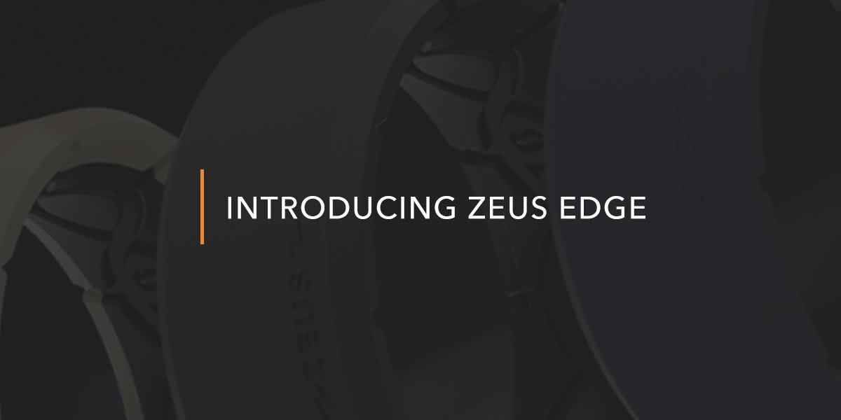 Close up on Zeus Edge ring