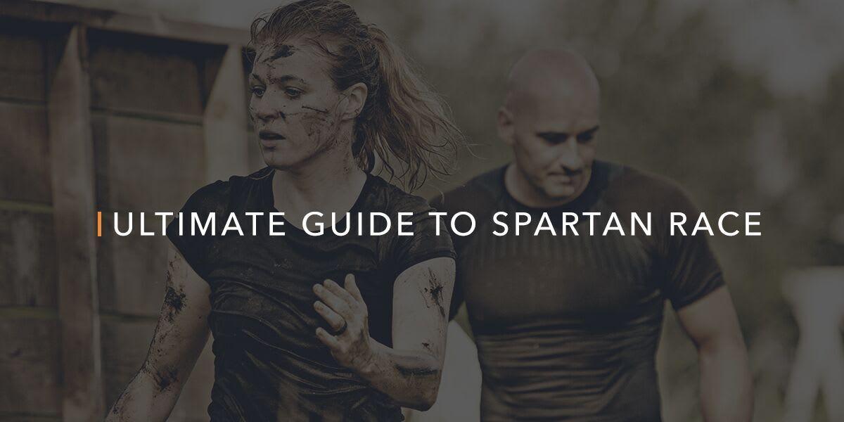 woman running in a spartan race
